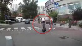 Monocyklem z dzieckiem