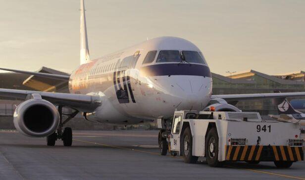 Jeden lot odwołany Lotnisko Chopina / facebook