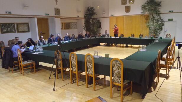 Sesja rady dzielnicy Białołęka