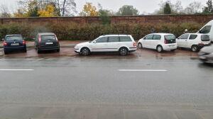 Miejsca parkingowe na wagę złota. A tu jeden na dwóch