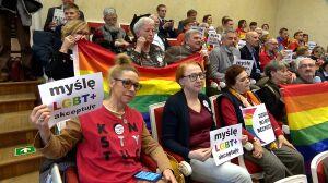 """Burzliwa dyskusja o LGBT+. """"Deklaracja jest odpowiedzią na zjawiska agresji"""""""
