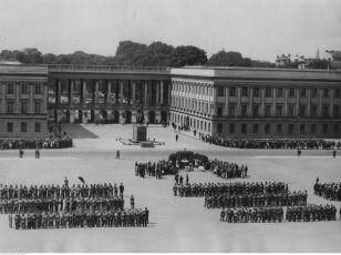 Pałac Saski w 1932 roku nac