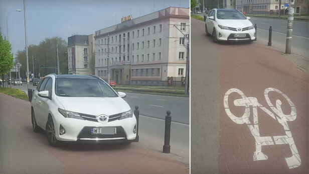 Mistrz parkowania Jarek, warszawa@tvn.pl