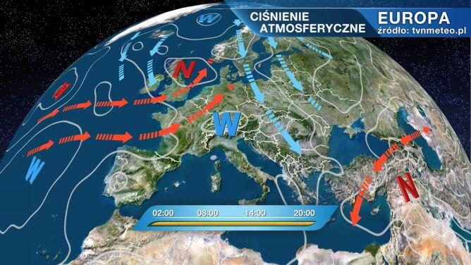 Pirmin kształtuje pogodę w Polsce