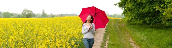 Weekend z angielską pogodą. Synoptyk: wychodźmy na spacer
